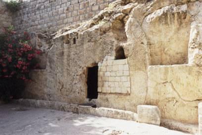 Auch das könnte das Grab von Jesus gewesen sein