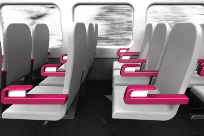 Auch ein Einsatz im Zug wäre möglich, wo der Platz ebenfalls beschränkt ist