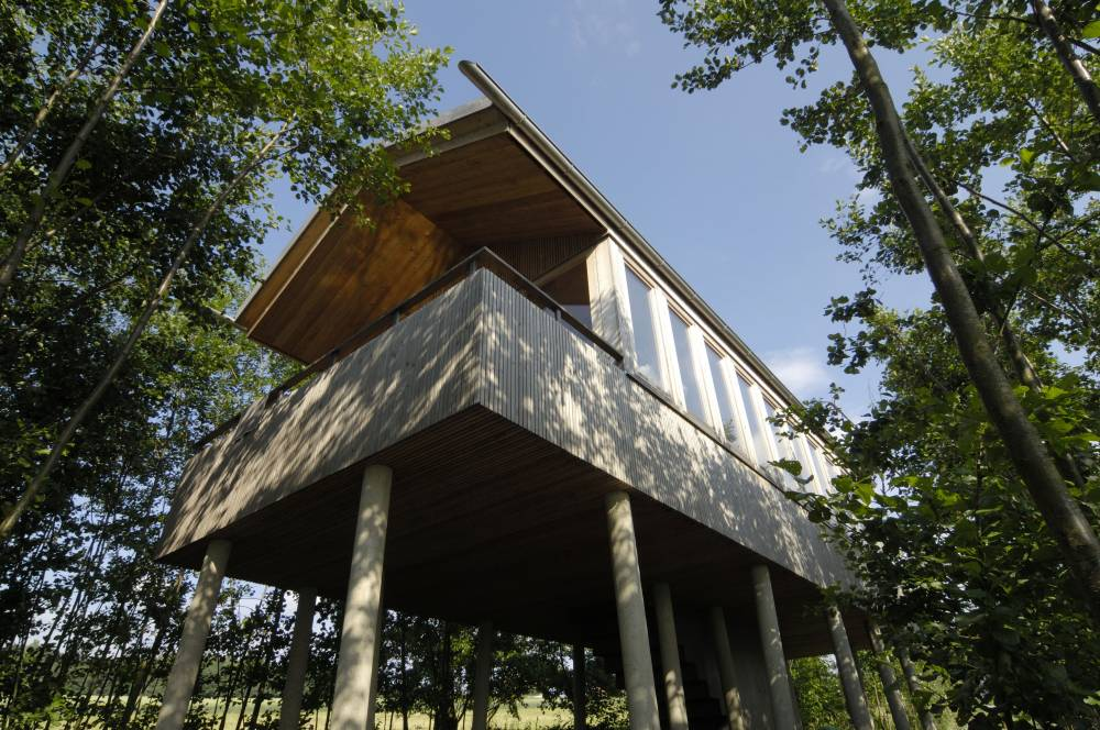 Ein Baumhaus Ganz Ohne Internet, Fernseher Und Handyverbindung. Foto:  Hofgut Hafnerleiten