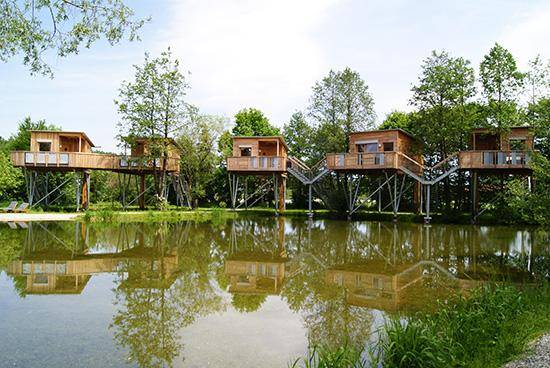 Die 24 Schonsten Baumhaushotels In Deutschland Travelbook