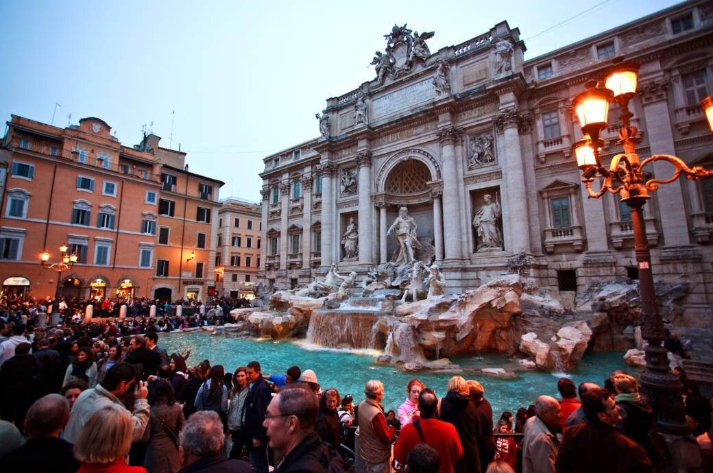 Trevi Brunnen Rom