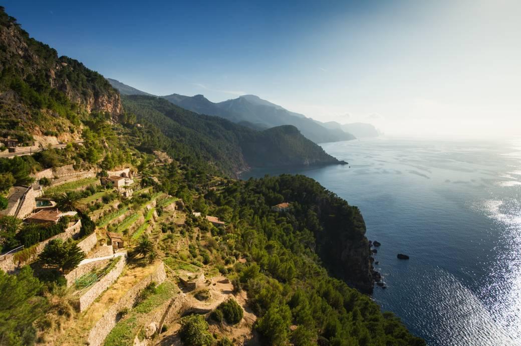 Mallorca-Küste bei Banyalbufar
