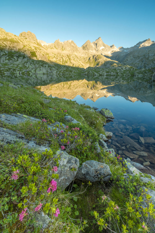 Der Lago Nero in den Brentner Dolomiten