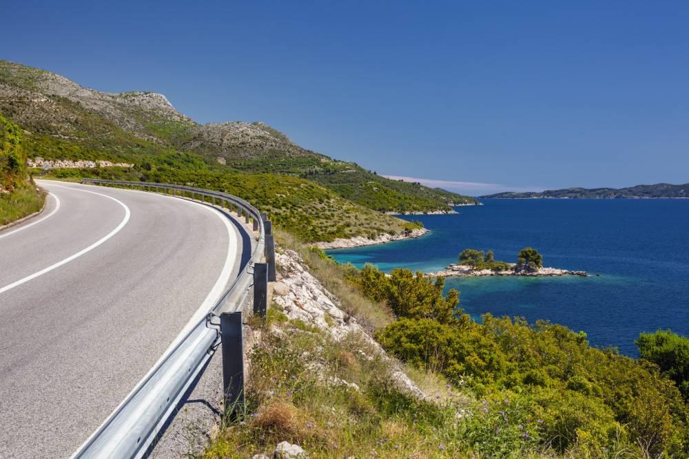 Küstenstraße Kroatien