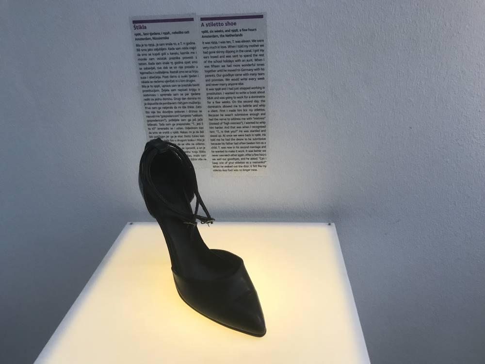 Museum of broken Relationships der gescheiterten Beziehungen