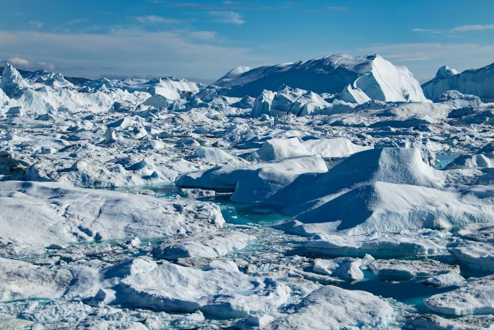 Grönland, Eis