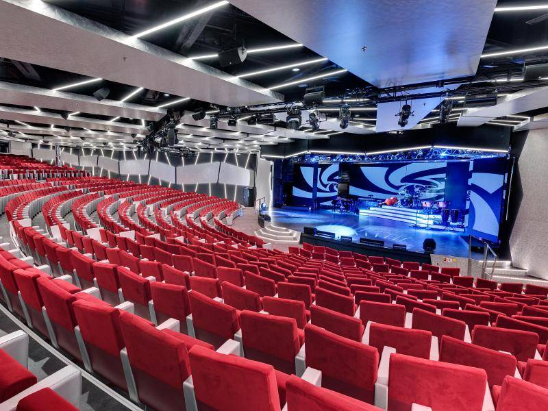 MSC Meraviglia, Theater