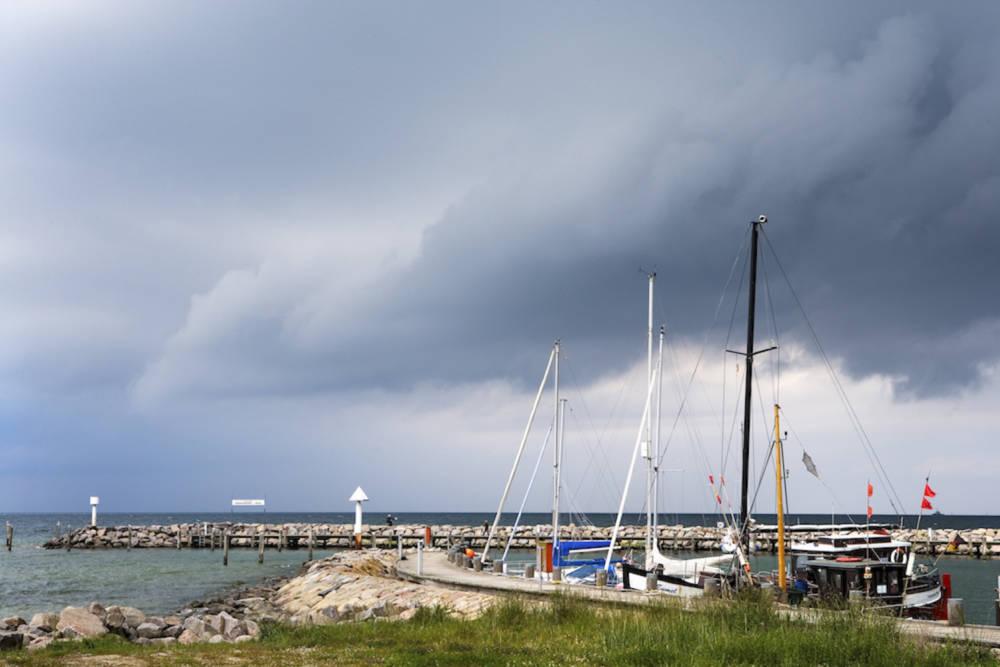 Der Hafen von Timmendorf auf der Insel Poel