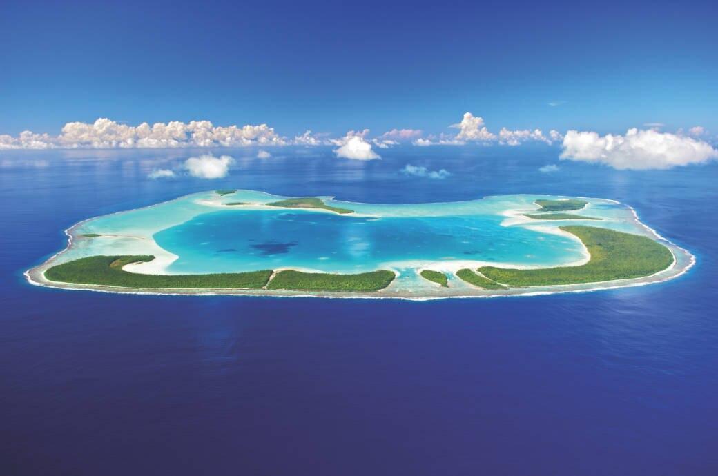 Tetiaroa, Brando, Atoll