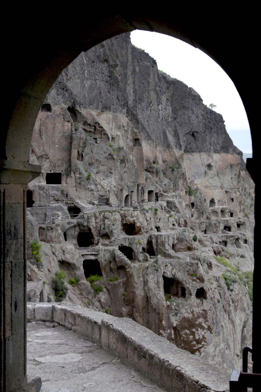 Die Felsenfestung Wardsia wurde für die Verteigung von Georgiens Grenzen errichtet