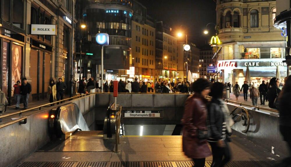 Wien - U-Bahn-Station Stephansplatz