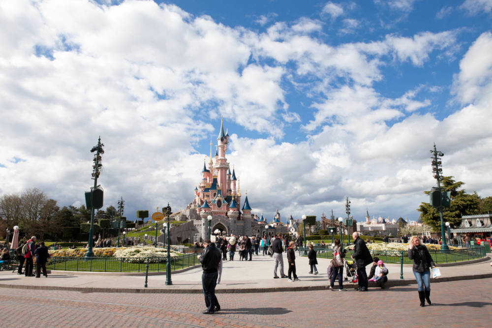 Das Cinderella-Schloss im Disneyland Paris