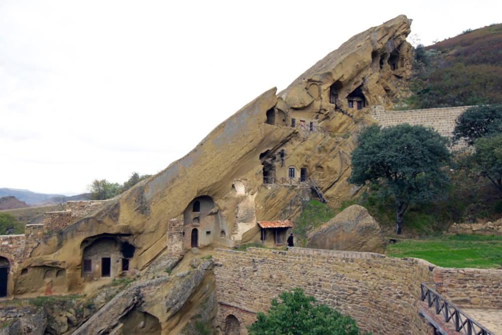 Das Kloster Dawit Garetscha hat eine spektakuläre Architektur