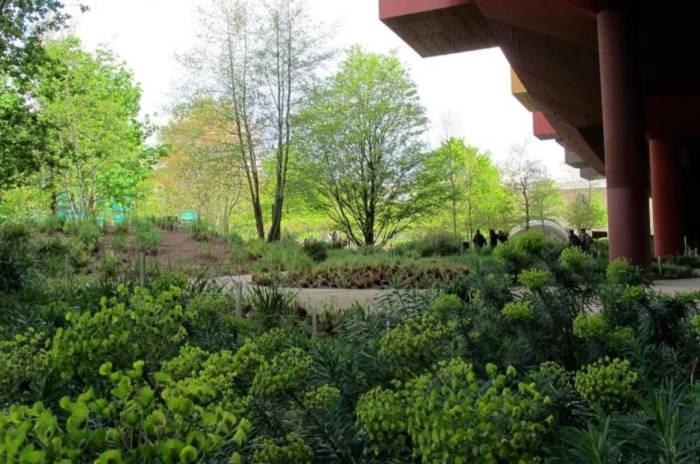 Garten im Musée du quai Branly