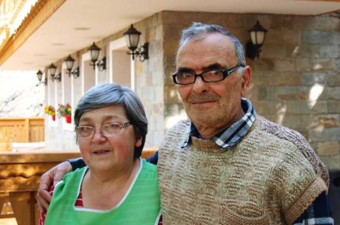 Kristina Zwetilowa und ihr Mann
