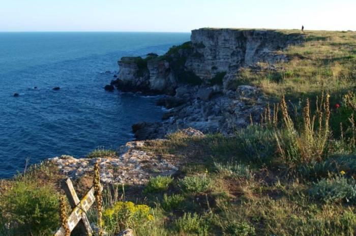 Die Steilküste bei Kamen Bryag