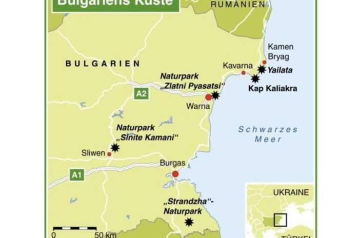 Bulgariens Küste