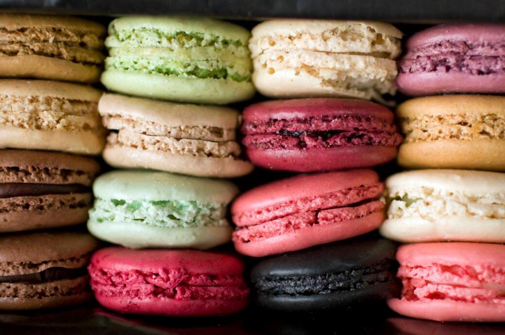 Bunt und lecker: Macarons