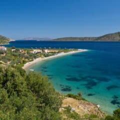 Ein Strand auf Alonissos