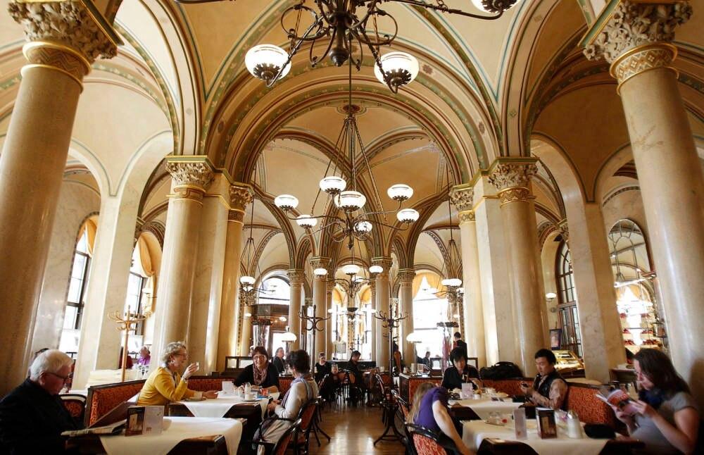 Café Central in der Herrengasse in Wien