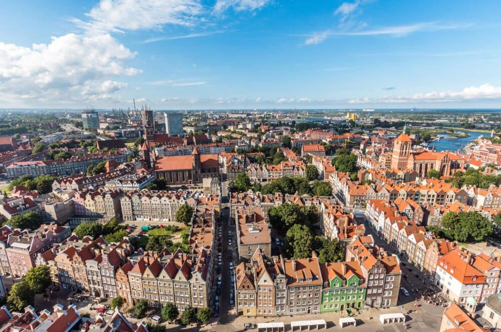 Die historische Hafenstadt Danzig