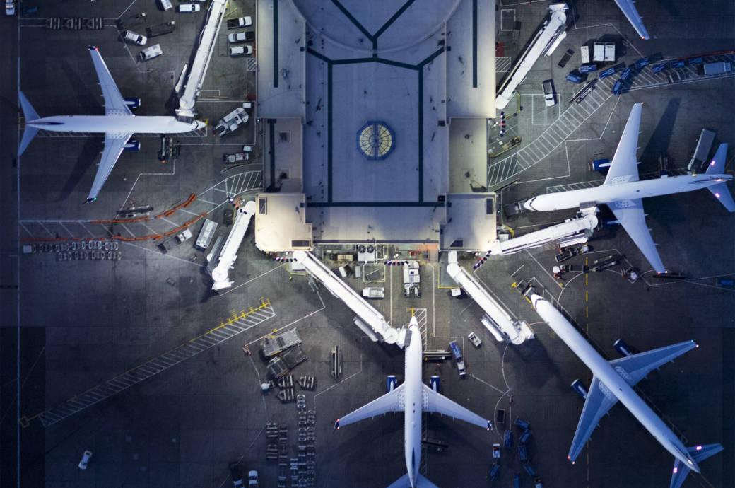 Der internationale Flughafen von Los Angeles, kurz: LAX