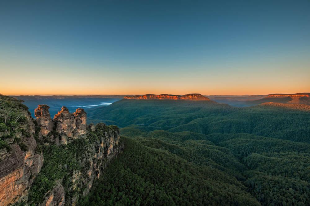gefährdete UNESCO-Welterben, Blue Mountains