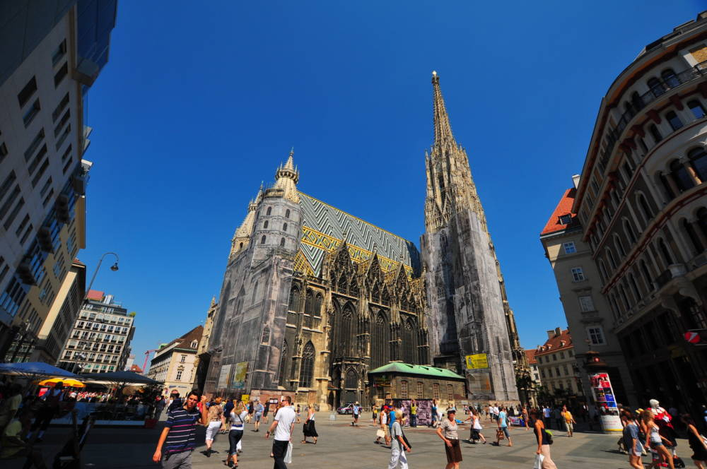 Der Stephansdom am Stephansplatz