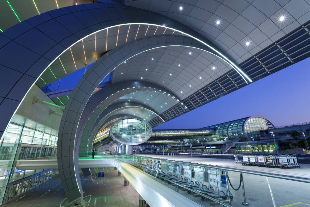 Das Terminal 3 des Dubai International Airport