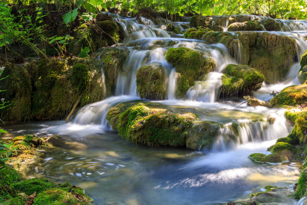 gefährdete UNESCO-Welterben, Nationalpark Plitvicer Seen