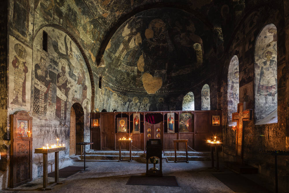 Die Kirche Mariä Himmelfahrt ist das heilige Zentrum des Klosters