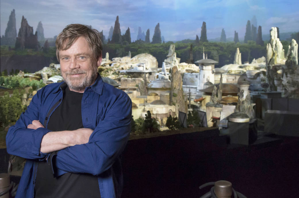 Mark Hamill, Star Wars, Galaxy's Edge