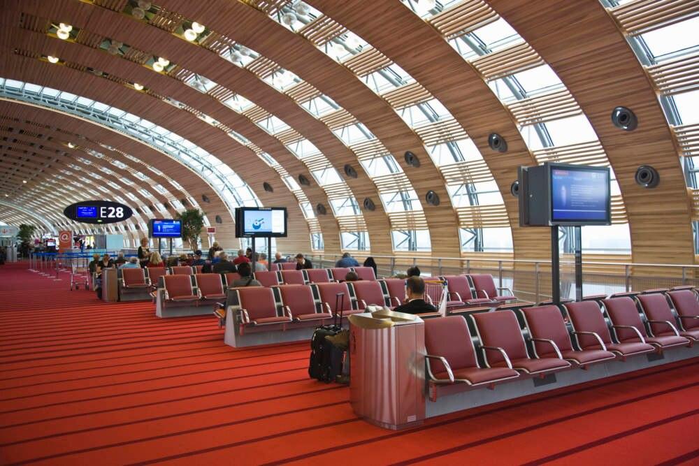 Der Pariser Flughafen Charles de Gaulle
