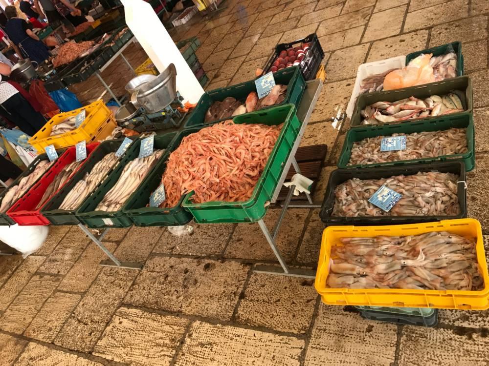 Fischmarkt, Split, Kroatien