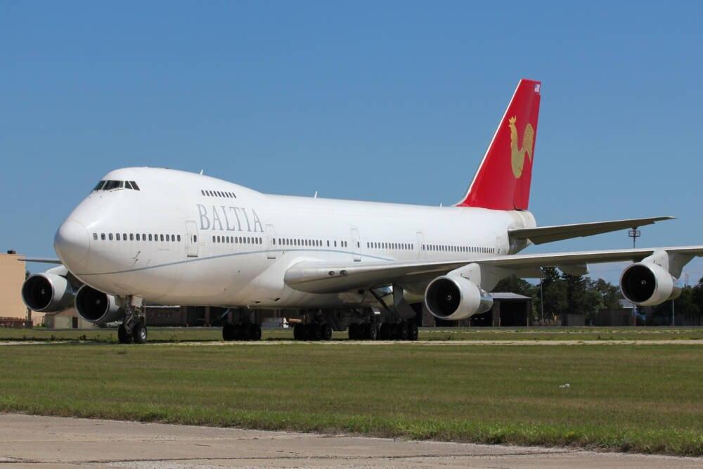 Boeing 747 von Baltia Airlines