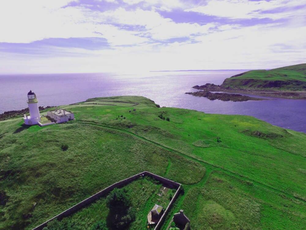 Little Ross Island Schottische Insel Mit Dunklem Geheimnis Travelbook