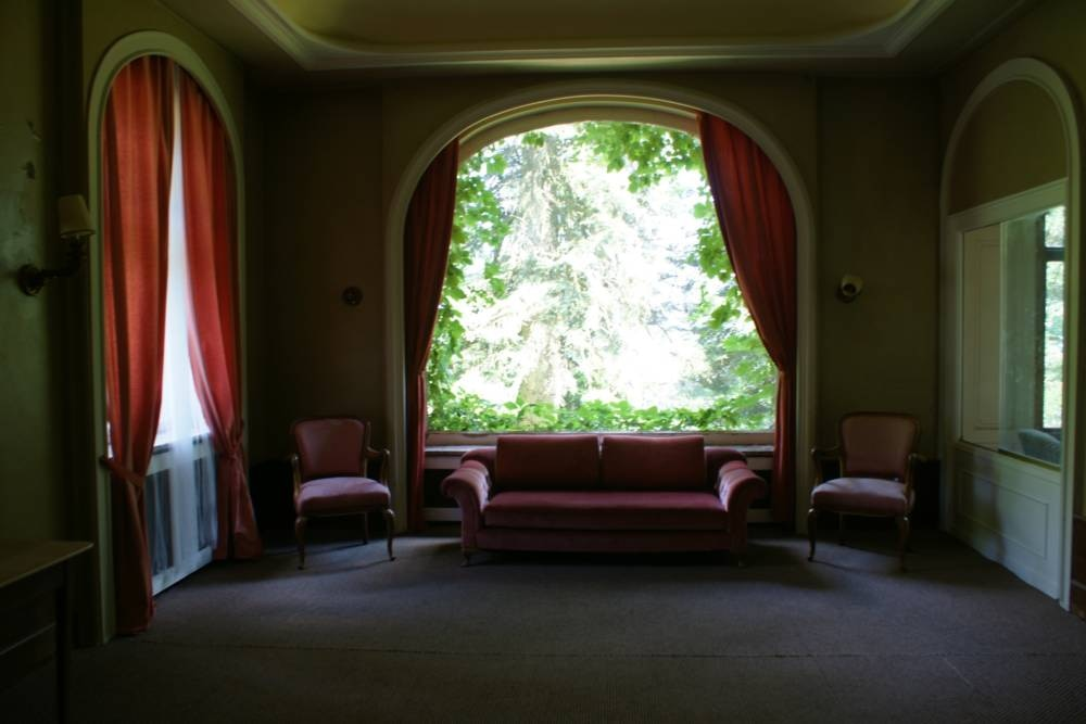 Sofaecke im Schlosshotel Waldlust