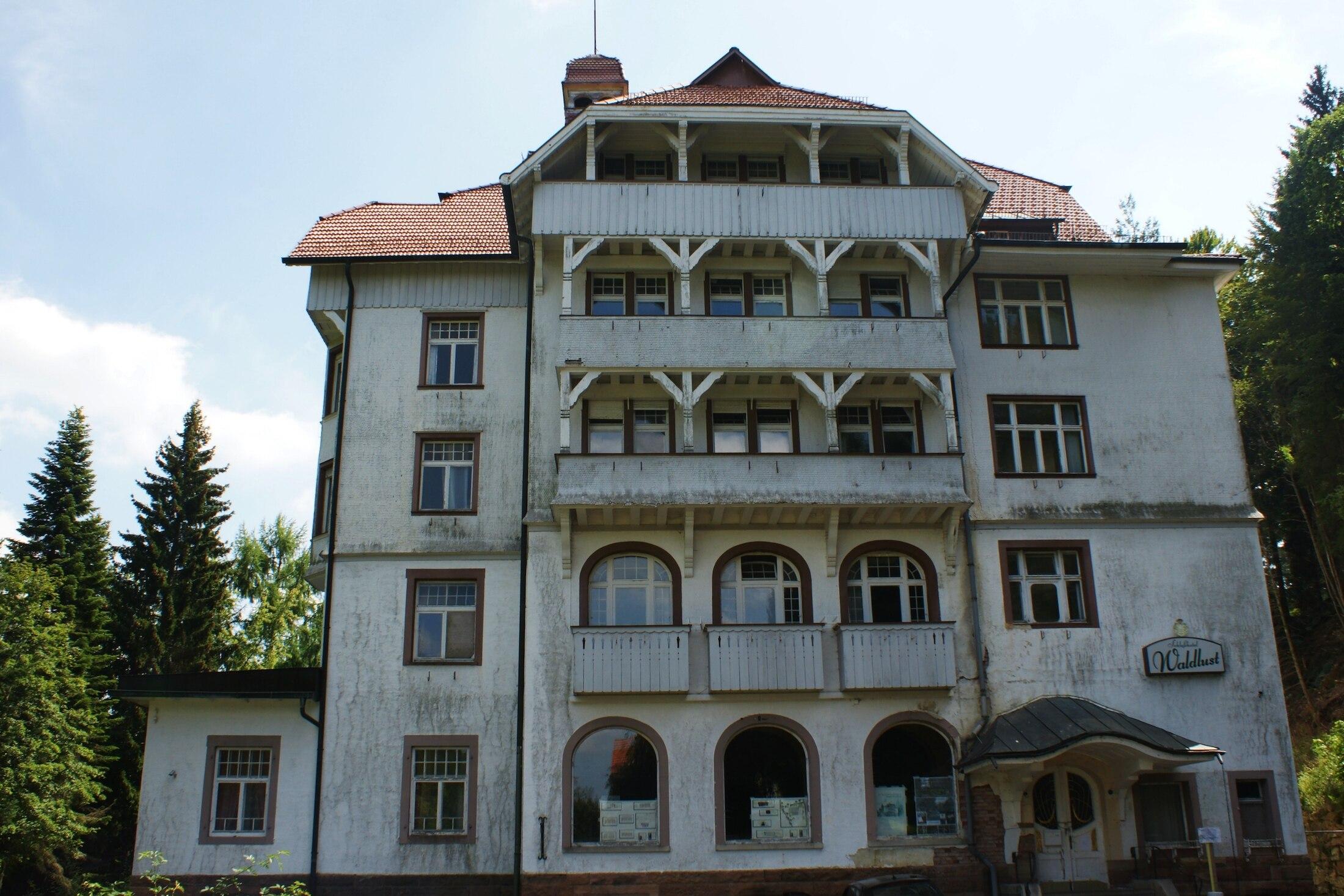 Grusel Hotel Deutschland