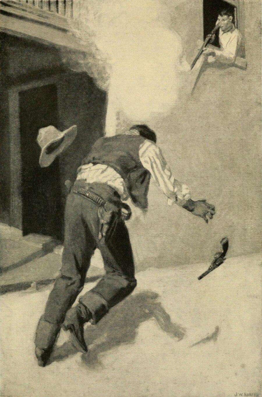 Ob der Mord an Billy the Kid so geschah wie auf dieser Zeichnung dargestellt, ist fraglich – wie überhaupt so vieles an der Geschichte des Revolverhelden