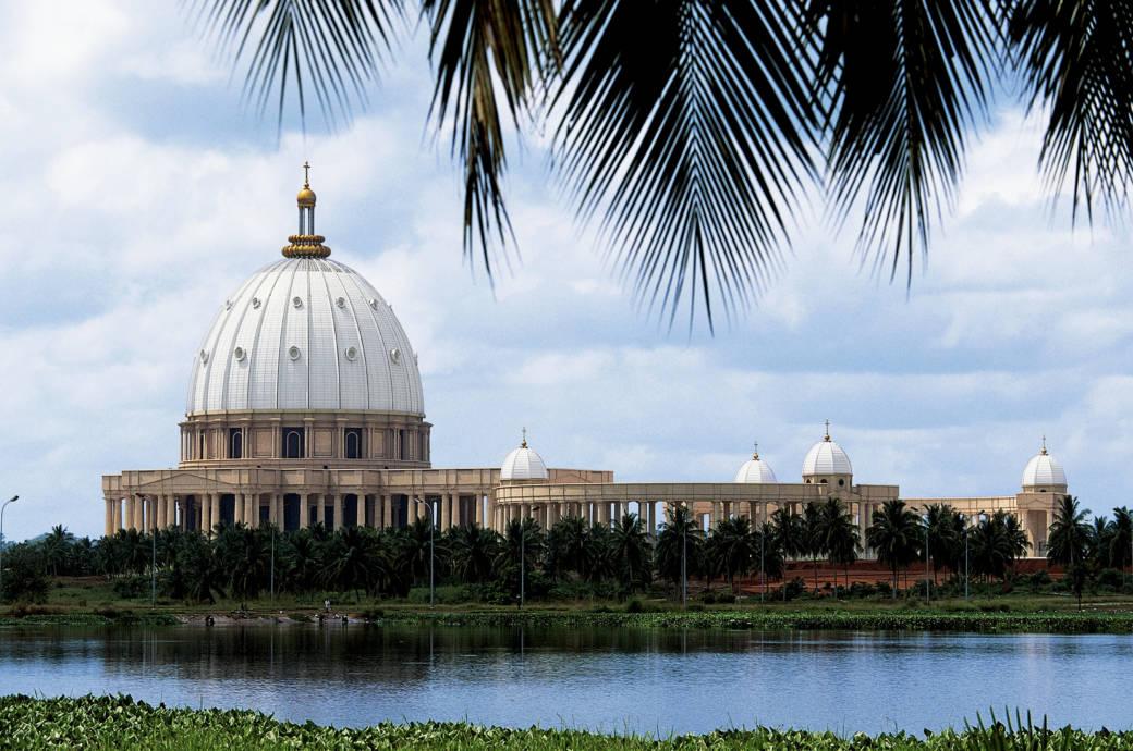 Notre-Dame de la Paix in Yamassoukro, Elfenbeinküste