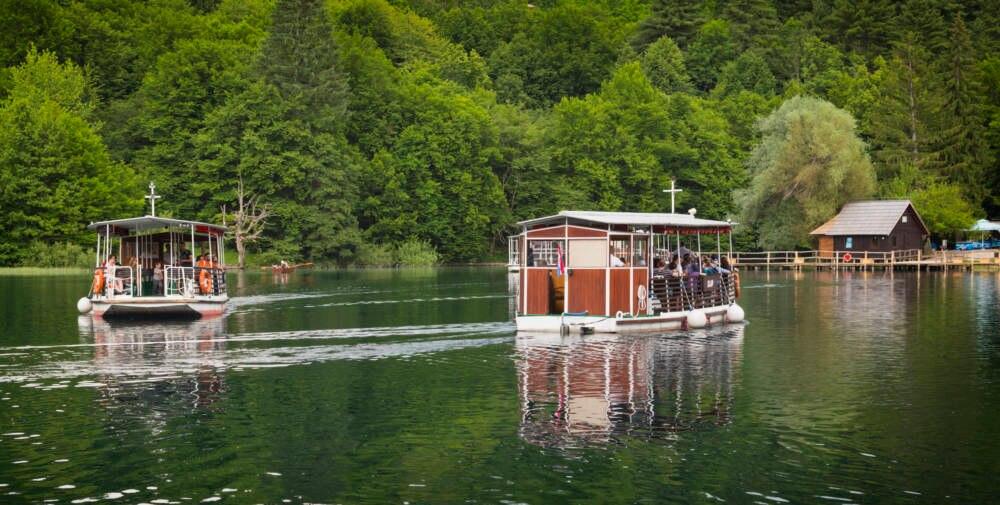 Kroatien, Plitvicer Seen