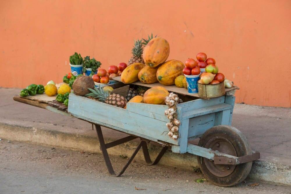 Früchte in Trinidad