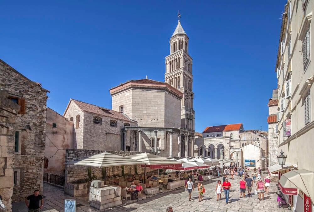 Kroatien, Split, Diokletianpalast