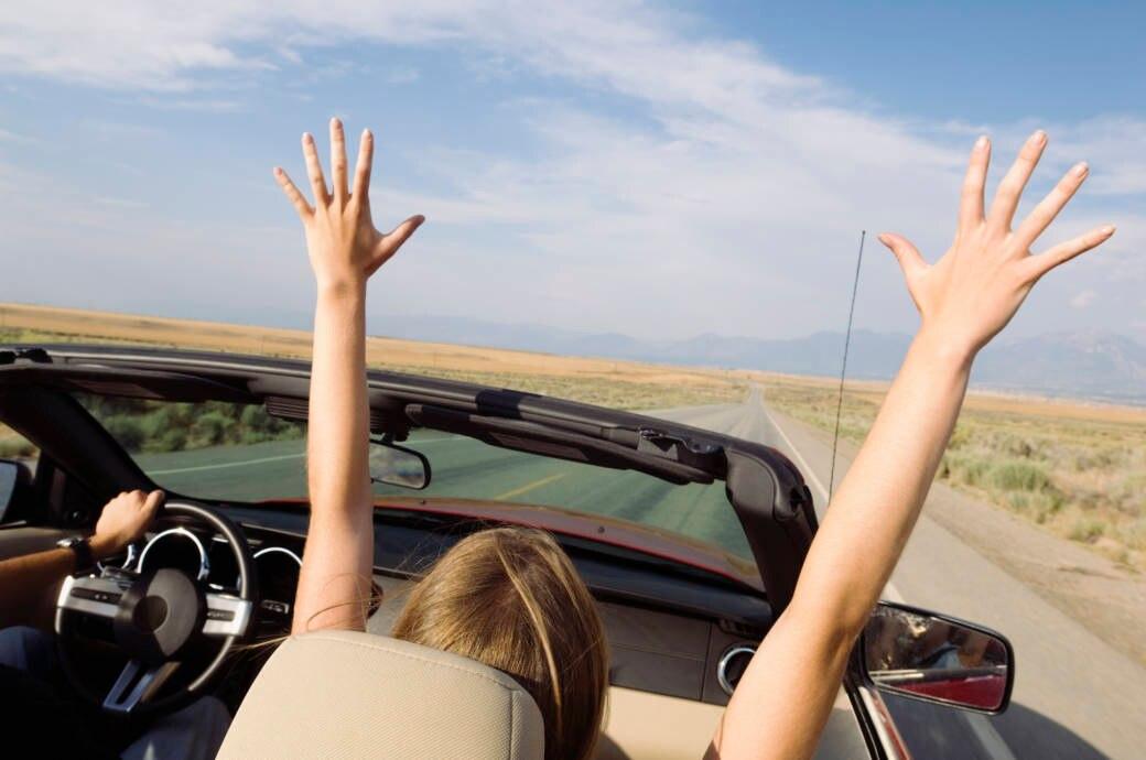 Roadtrip, Spaß, Young, Freiheit