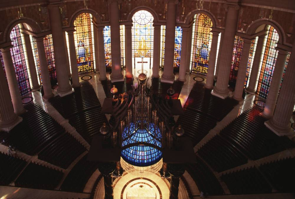 Im Innern der Basilika