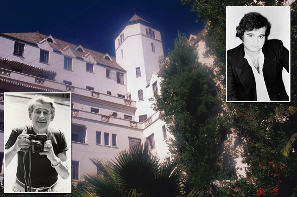 John Belushi und Helmut Newton – Chateau Marmont Hotel