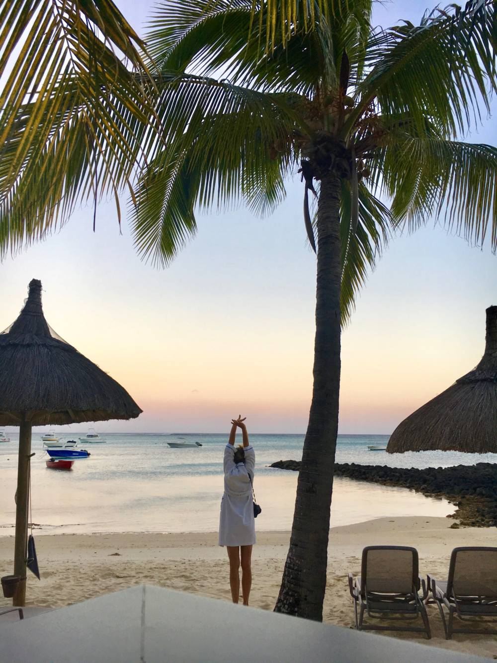 Sonnenaufgang auf Mauritius