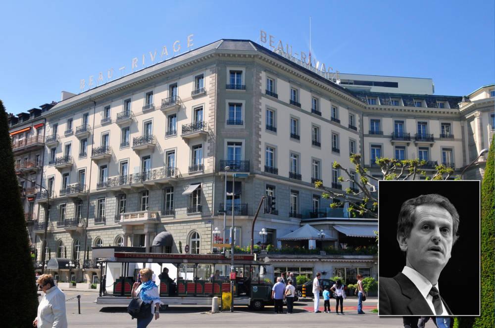 Uwe Barschel – Hotel Beau Rivage