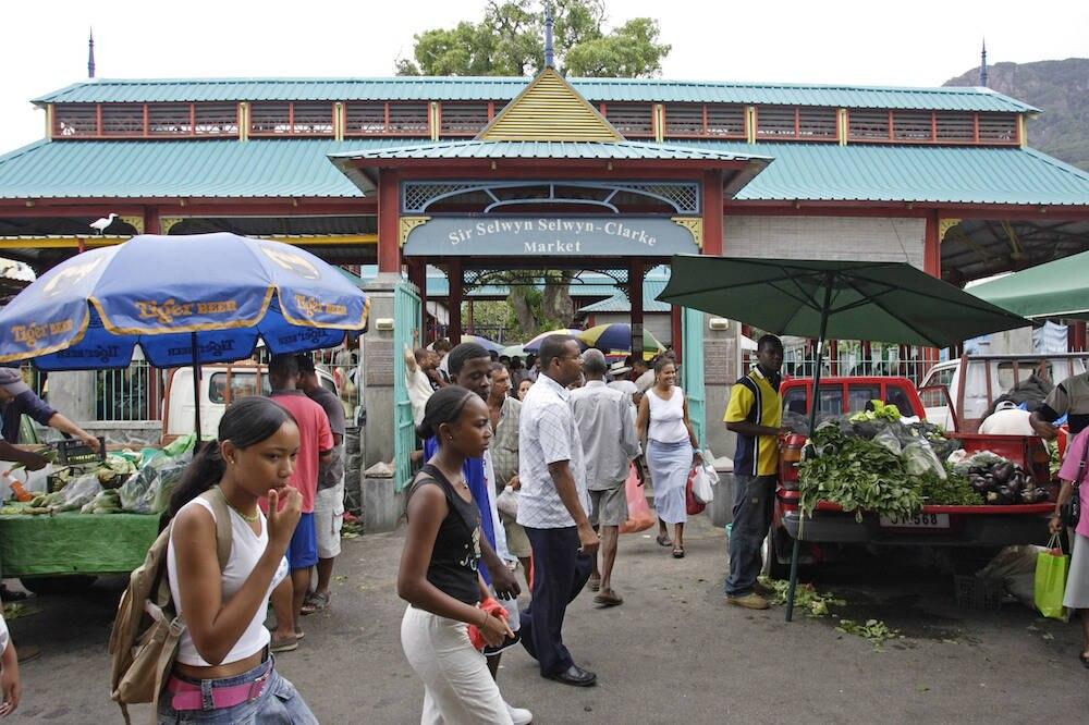 Markt auf den Seychellen