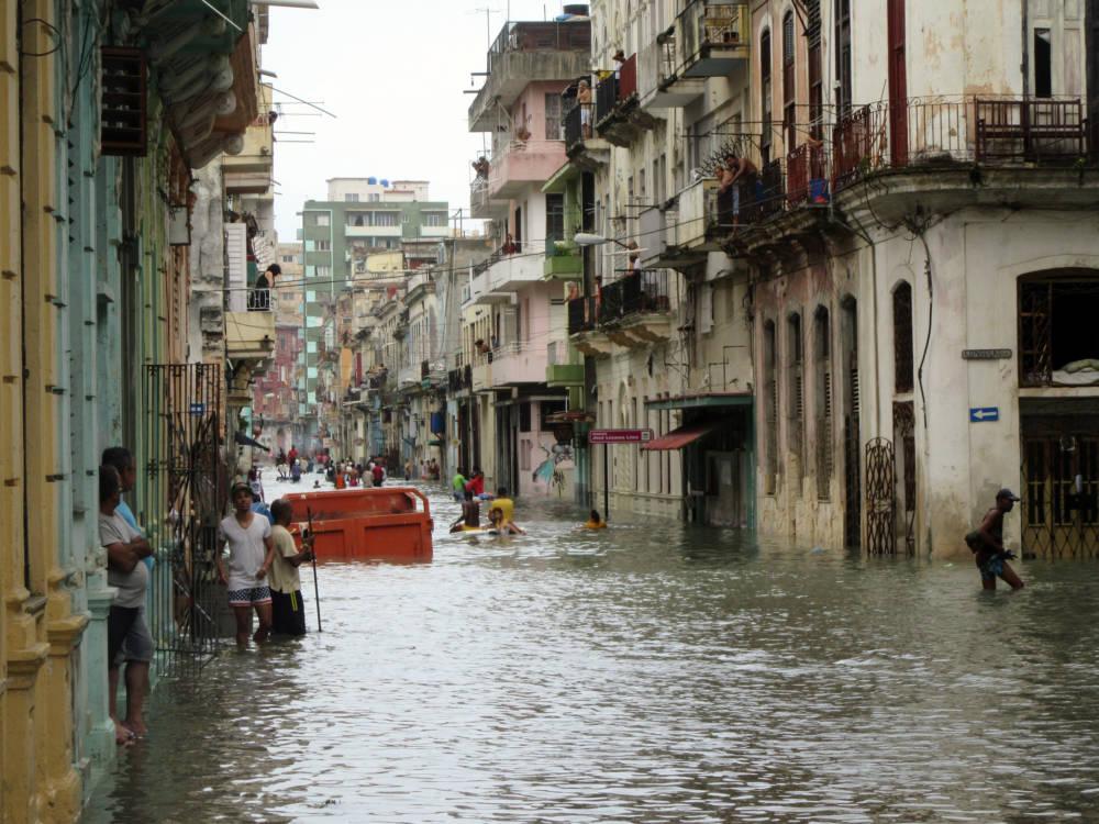 "Havana Centro leidet unter dem Hurrikan ""Irma"""